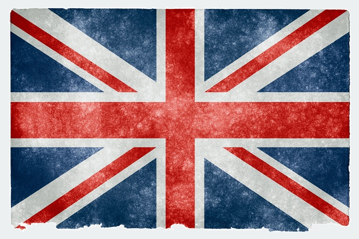 The flag of Britain